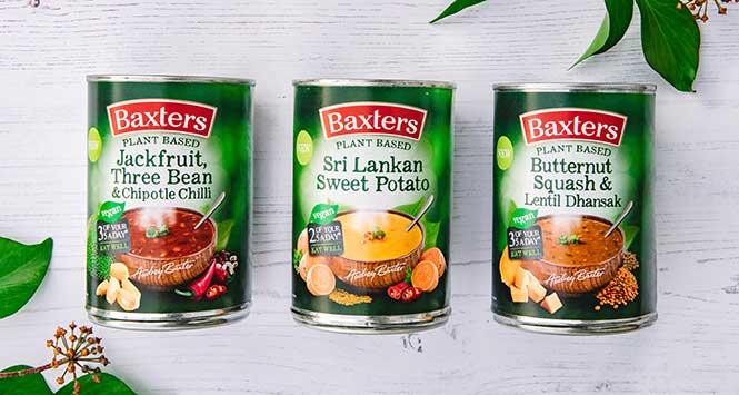 Baxters plant-based soups range