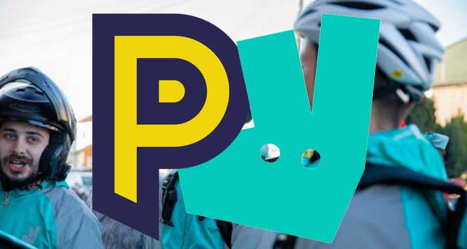 PayPoint and Deliveroo logos
