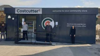 Costcutter's pop-up shop