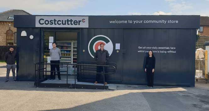 Costcutter's pop-up shop