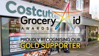 GroceryAid gold status