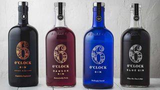 Six o'clock gin range