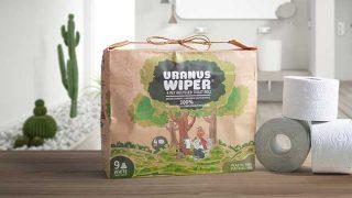 Uranus wiper toilet role