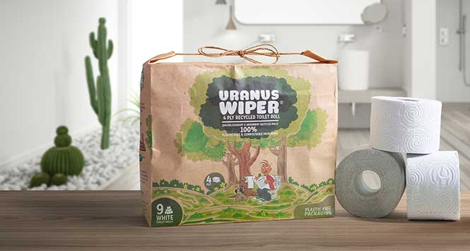 Uranus wiper toilet role