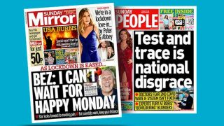 Sunday Mirror and Sunday People newspapers