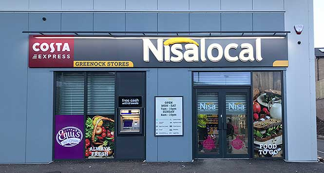 Nisa Local Greenock