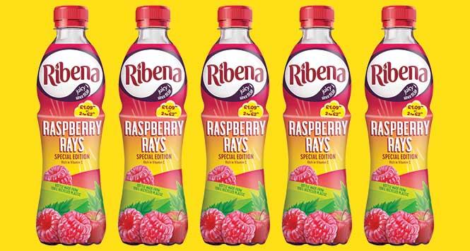 Ribena Raspberry Rays