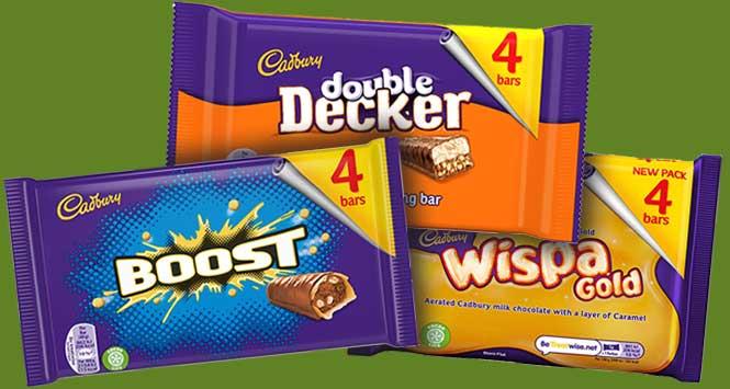 Cadbury multipacks