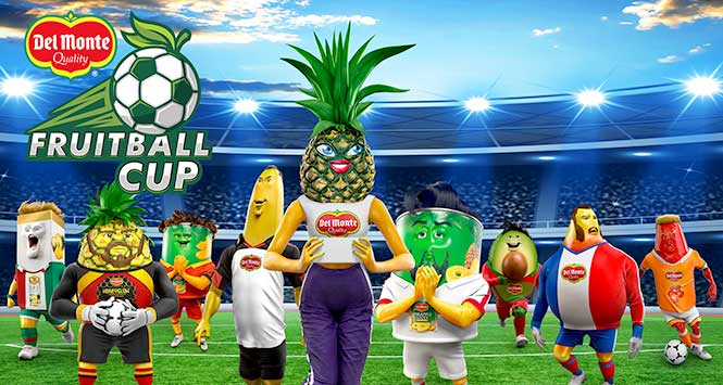 Del Monte's 'Fruitball' cup