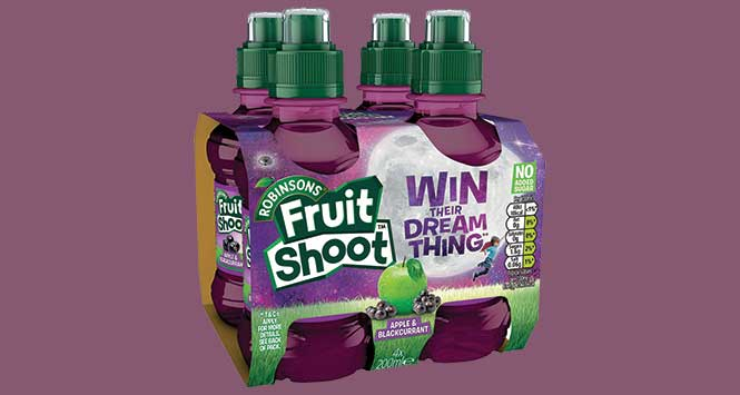 Fruit Shoot four-pack