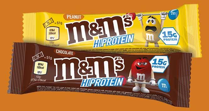 M&M's protein bars