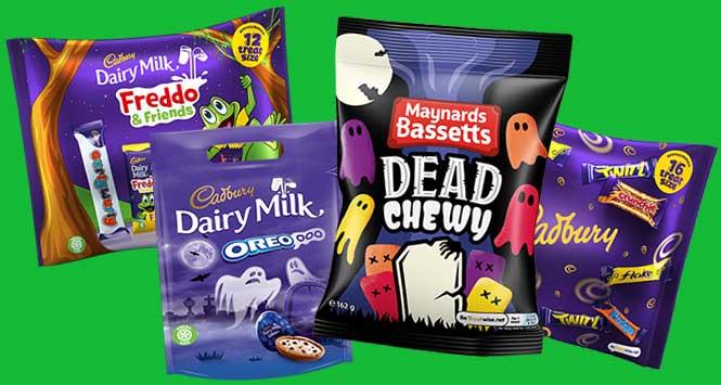 Mondelez Halloween confectionery