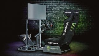Monster Energy racing simulator