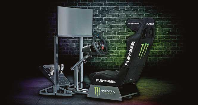 Monster Energy racing simulator