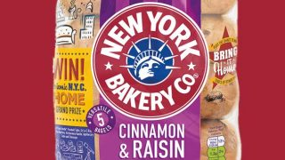 New York Bakery Co bagels