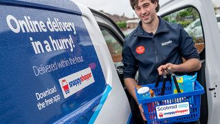 Scotmid delivery van