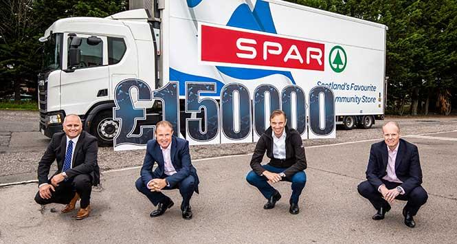Spar Scotland lorry