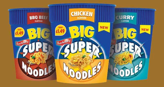 Big Super Noodles Pots