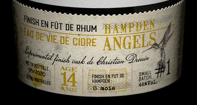 Bottle of Hampden Angels