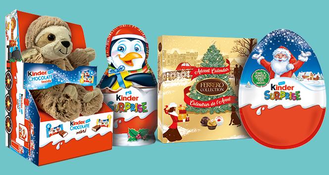 Ferrero products