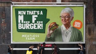 Meatless Farm M*** F*** billboard