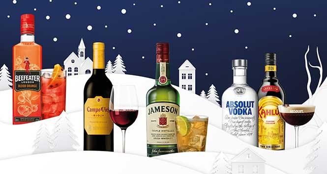 Pernod Ricard range
