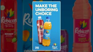 Rubicon 'Make the unboring choice' poster