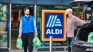 Aldi click & collect service