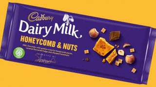 Cadbury Honeycomb & Nuts