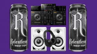 Relentless cans and Pioneer equipment