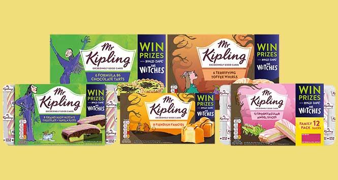 Mr Kipling Halloween cakes