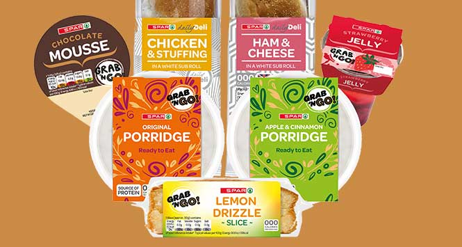 Spar food-to-go products