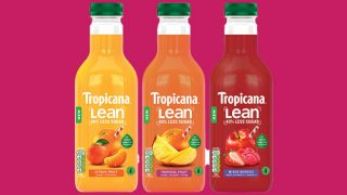 Tropicana Lean range