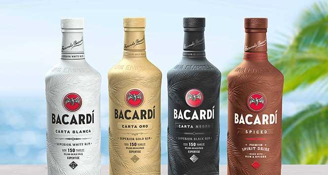 Bacardi's biogradable bottle