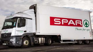Spar lorry