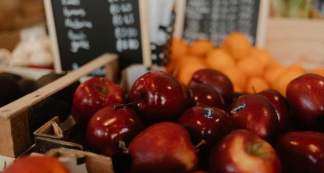 loose apples