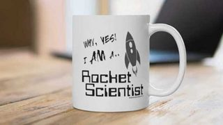 'I am a rocket scientist' mug