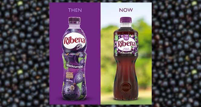 Ribena bottles