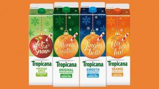 Tropicana's festive range