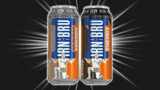 Irn-Bru Energy in 500ml cans