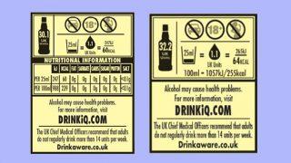 Diageo health warning