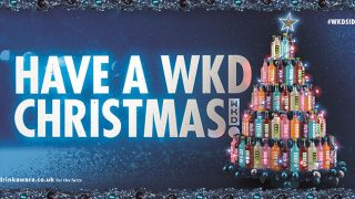 Have a WKD Christmas