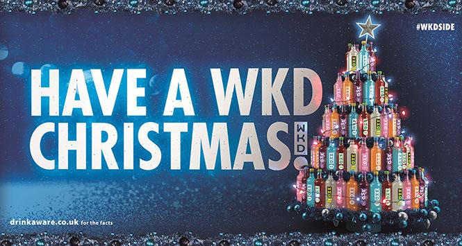 Have a WKD Christmas