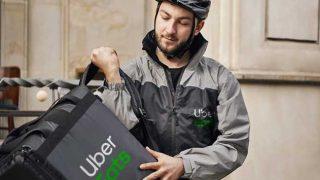 Uber Eats rider