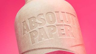 Absolut's paper bottle