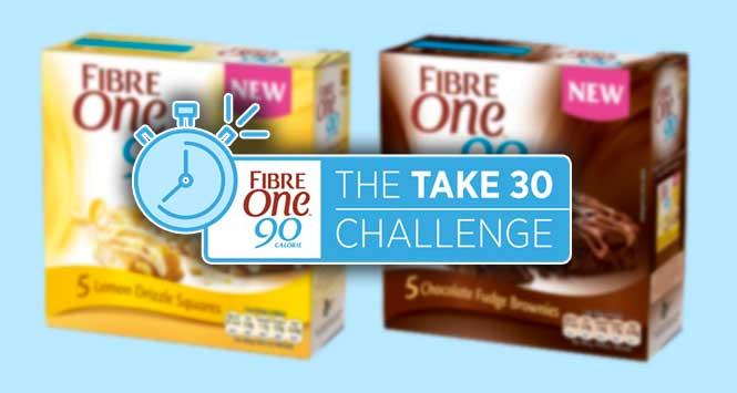 Fibre One: The Take30 challenge