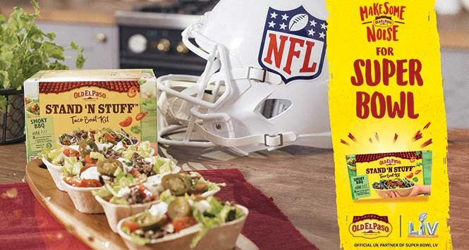 Old El Paso stand-up tacos