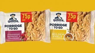 Quaker porridge on the go bars