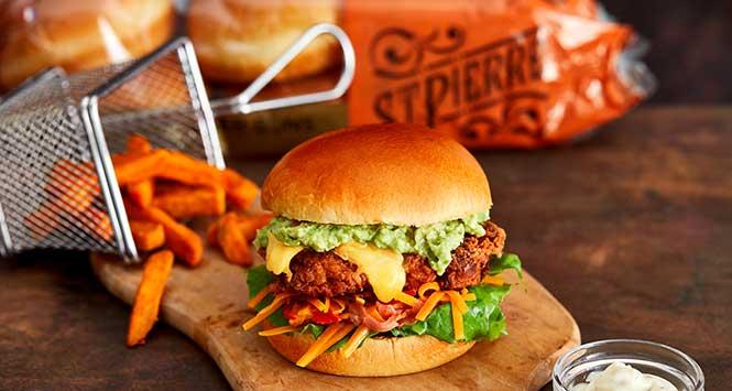St Pierre Groupe burger