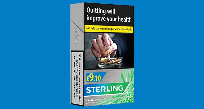 Sterling Dual Capsule Leaf Wrapped 20s